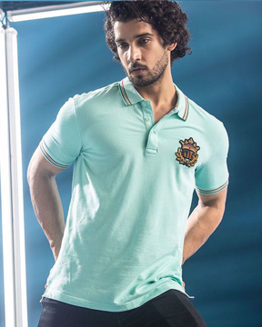 Picture of MENS KNIT POLO