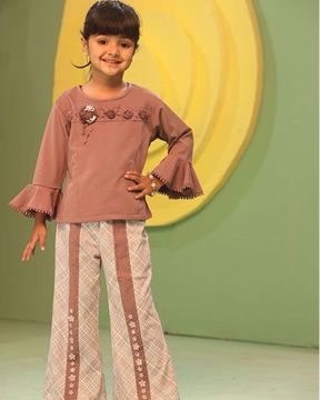 Picture of GIRLS FASHION TOP WITH BOTTOM(5-6Y)(7-8Y)(9-10Y)