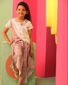 Picture of GIRLS FASHION TOP WITH BOTTOM (5-6Y)(7-8Y)(9-10Y)