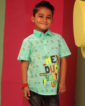 Picture of BOYS CASUAL SHIRT  5-6Y