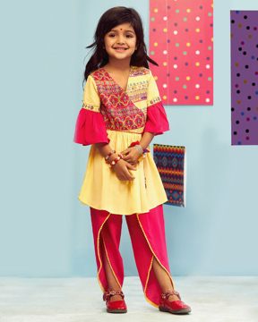 Picture of Girls Ethnic Kurti & Pant (9-10) (11-12Y)