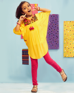 Picture of Girls Ethnic Kurti (7-8Y) (9-10Y)