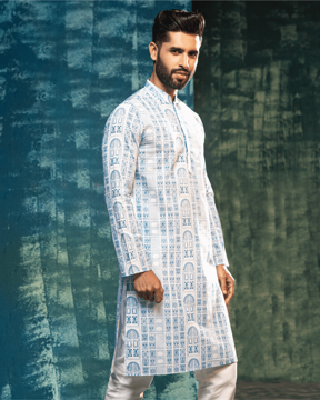 Picture of Men's Fusion Kurta