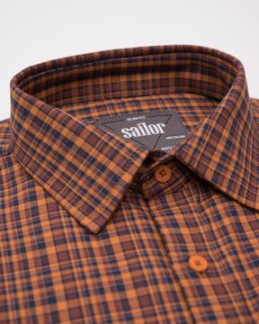 Picture of Burberry Check Smart Casual Shirt