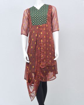 Picture of Frilled Layered Long Top