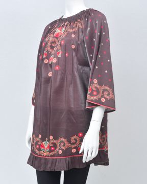 Picture of Silk Cape Top
