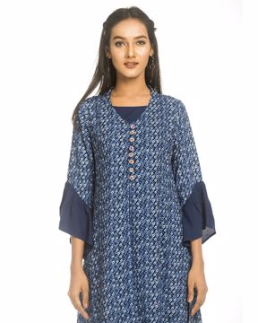 Picture of Ethnic Double Part Kurtis