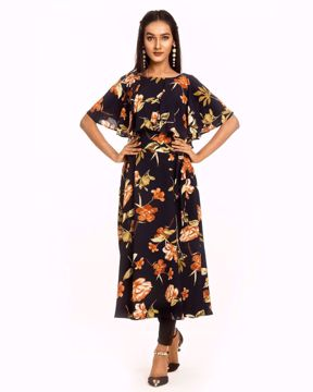 Picture of Ruffle Midi Dress
