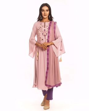 Picture of Silk Kurtis suit