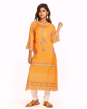Picture of Ethnic Silk Kurtis