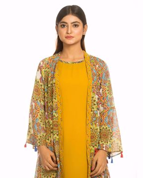 Picture of Flared Frill Kurtis
