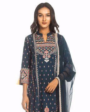 Picture of A-Line Ethnic Kurtis