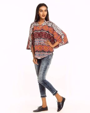 Picture of BOHO Cape Short Top