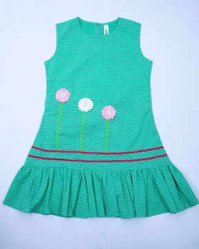 Picture of Girls Cotton Frock