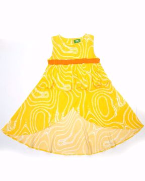 Picture of Green Girls Frock