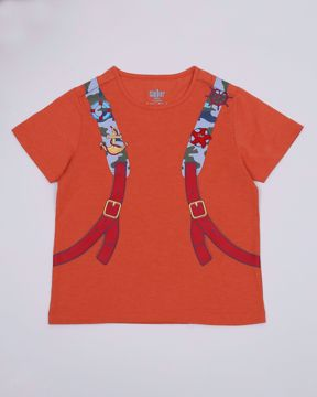 Picture of Boys printed Tees