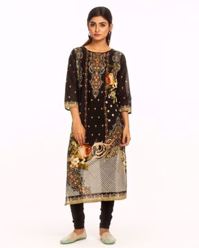 Picture of A-line Cotton Kurtis
