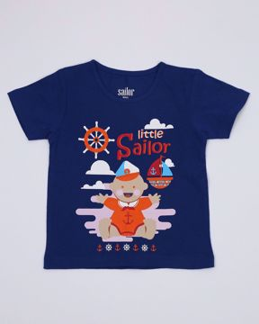 Picture of NEWBORN BOYS KNIT T-SHIRT