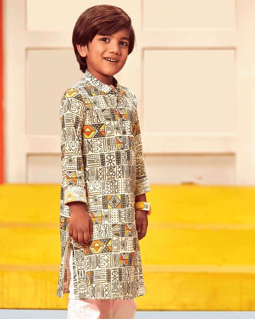 Picture of Boy's Fusion Kurta (7-8Y)