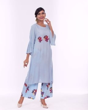 Picture of Floral Kurti with Pant