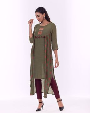 Picture of Double-Layered Fusion Kurti