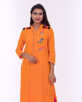 Picture of Side slit Fusion Kurti