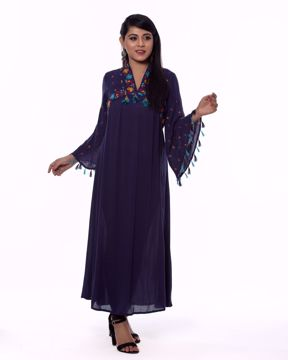 Picture of Long Round Style Ethnic Kurti