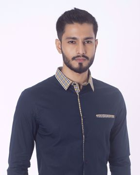 Picture of Contrast Detailing Smart Casual Shirt