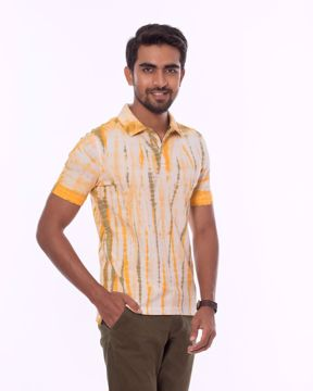 Picture of Tie Dye Pique Polo