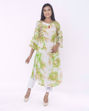 Picture of Ethnic  Round  Pattern Kurti