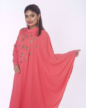 Picture of Long Illustration pattern Fusion Kurti