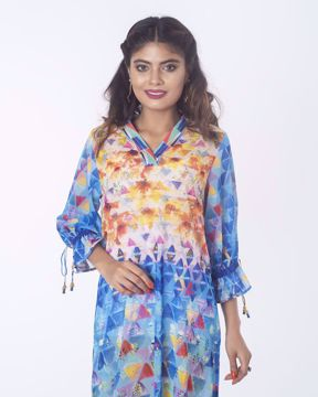 Picture of Side slit Ethnic Kurti