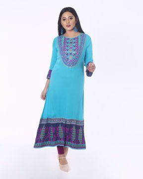 Picture of Ethnic A-line Kurti