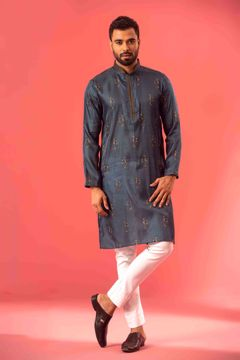 Picture of Silk & Viscose Blended Premium Kurta