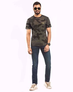 Picture of Camo Printed T-Shirt