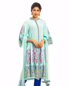 Picture of Ethnic A-line Kurti Suit