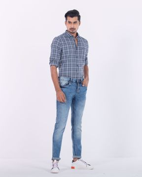 Picture of Mens Denim Trouser