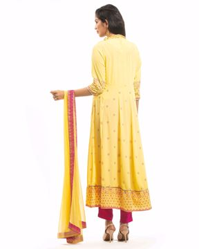 Picture of Ethnic Silk Kurti Suit