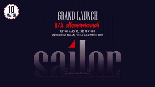 Sailor, launched a New One, exclusive outlet @Dhanmondi