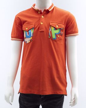 Picture of Green Boy's Knit Polo