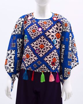 Picture of Green Girl's woven Top