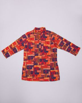 Picture of NEWBORN BOYS FUSHION KURTA (1Y) - (2Y)