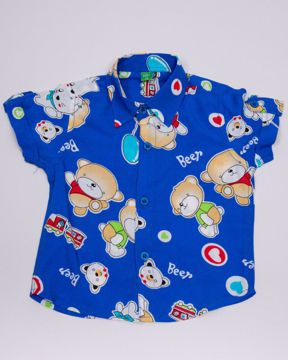 Picture of NEWBORN BOYS SHIRT PANT SET