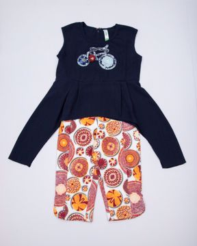 Picture of GIRLS FASHION TOP WITH BOTTOM (IN) (5-6Y) (7-8Y)