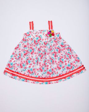 Picture of NEWBORN GIRLS WOVEN FROCK