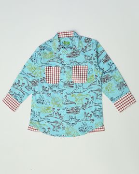 Picture of NEWBORN BOYS CASUAL SHIRT (6M)
