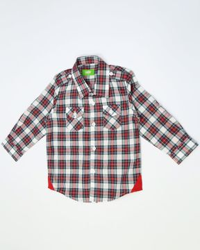 Picture of NEWBORN BOYS CASUAL SHIRT (6M) - (1Y)