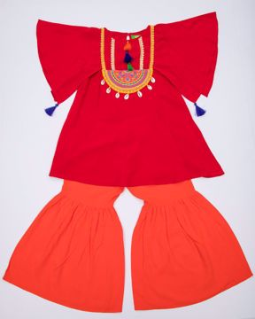 Picture of GIRLS WOVEN 2PCS (3-4Y) (5-6Y)