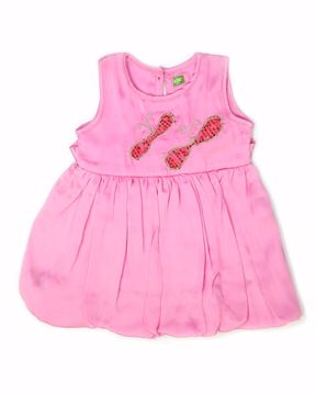 Picture of NEWBORN GIRLS FROCK    (3M) - (6M)