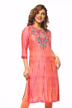 Picture of B -Silk Ethnic Kurti